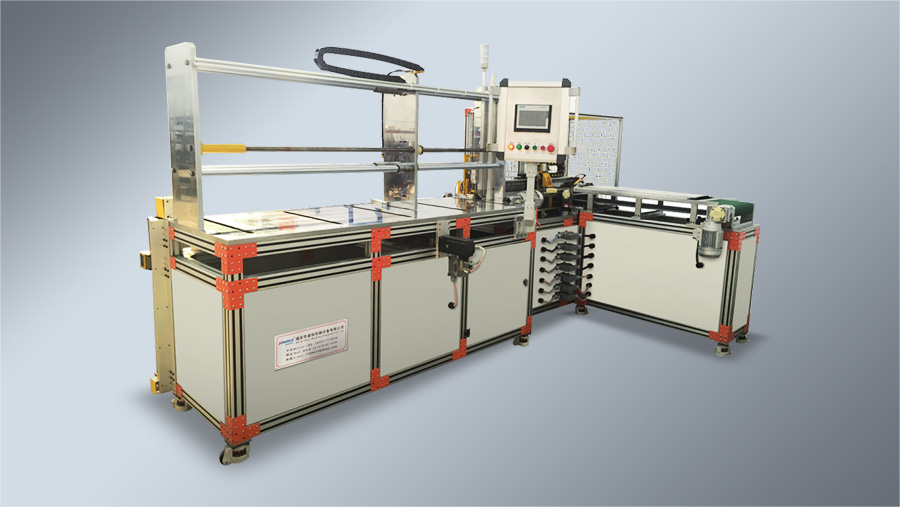 Automatic Inner Fin Inserting Machine